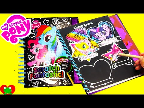 My Little Pony Scratch Fantastic Activity Book Toy Genie