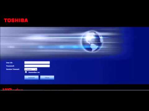 Toshiba VIPedge: Enterprise Manager Personal Administration Super User Login