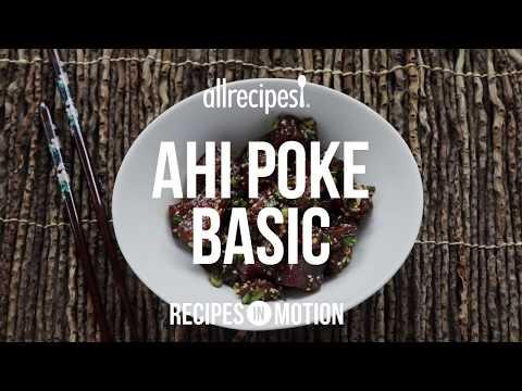 How to Make Ahi Poke | Seafood Recipes | Allrecipes.com