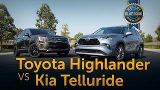 2021 Toyota Highlander vs 2021 Kia Telluride | Comparison