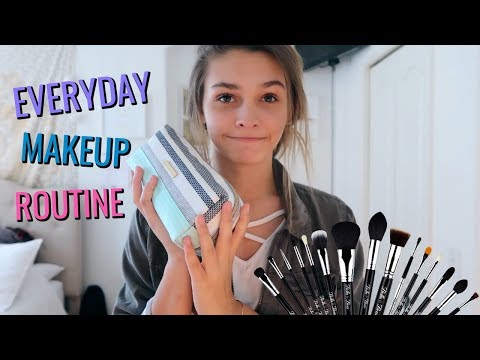 MY 2018 EVERYDAY MAKEUP ROUTINE!