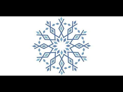 Create Geometric Snowflakes in Adobe Illustrator