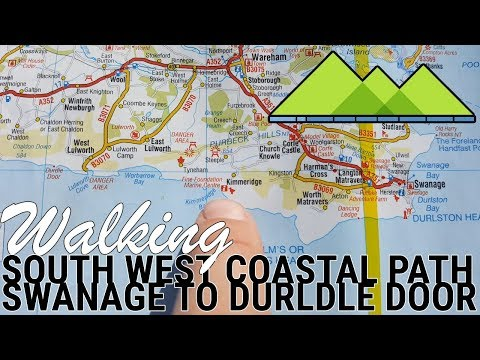 Walking The South West Coast Path Swanage to Durdle Door - The best bits!