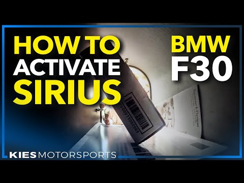 How to activate Sirius Satellite Radio in your BMW (BimmerTech Activation Service)