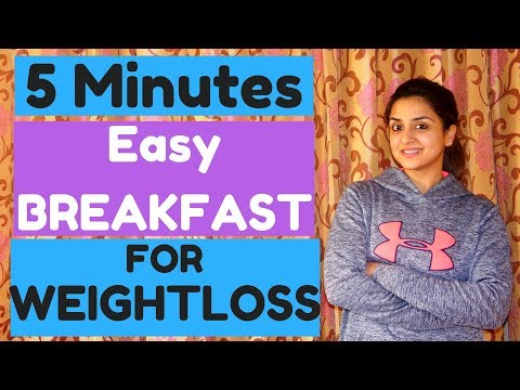 How to make QUICK and Healthy Oats for breakfast? | WEIGHTLOSS