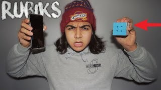 THIS APP CAN SOLVE A RUBIKS CUBE | RUBIKS CUBE LIFE HACK - HOW TO SOLVE A RUBIKS CUBE!