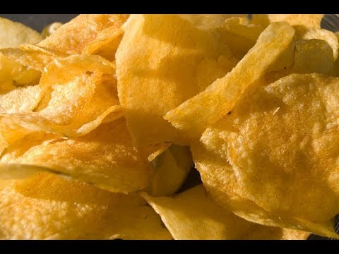 HOW TO MAKE CRISPY  POTATO CHIPS WITHOUT DEEP FRYER (BY CRAZY HACKER)