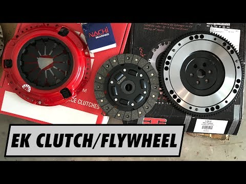 Action Clutch Install on Project Civic EK