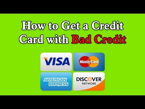 How to Get a Credit Card with Bad Credit - Instant Approval Credit Card Online