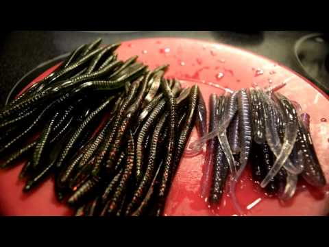 How to diy ~ modify soft plastics fishing baits to give them double the action