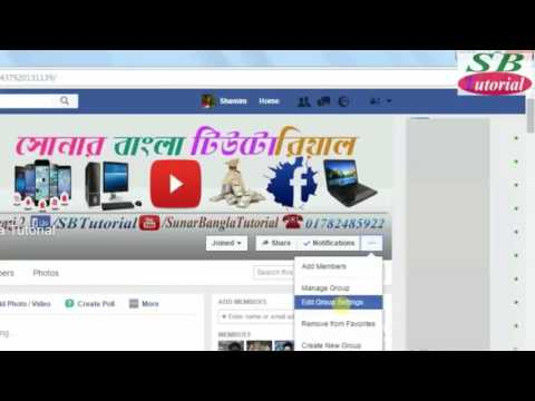 How To Set Custom Url On Your Facebook Group 2017