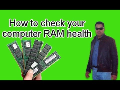 How to check your computer RAM health without softwares