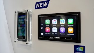 Hands-on with Wireless CarPlay from Alpine