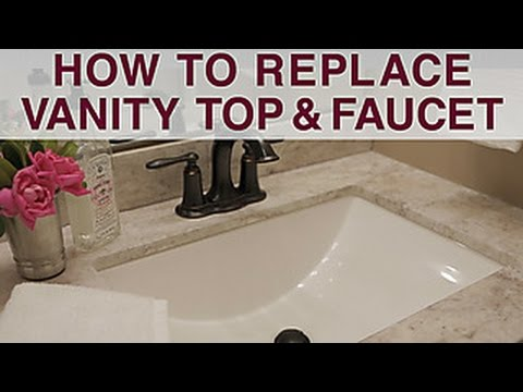 Replace Vanity Top and Faucet - DIY Network