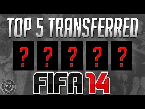 Top 5 Transferred Players for FIFA 15 Ultimate Team (FUT 15) Guide to Best Squad & New Transfers