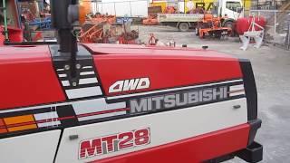 Трактори втора употреба MITSUBISHI D2350FD www krekis com - KUBOTA