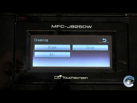 Brother MFC-J825DW: How to do Head Cleaning