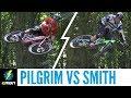 Sam Pilgrim Vs Chris Smith   Game Of E BIKE
