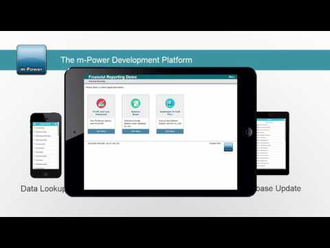 Create mobile web apps with m-Power