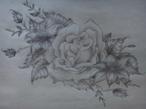 Tiger Lily Tattoo Drawings Tiger