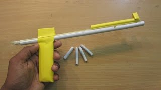 How To Make A Paper Gun That Shoots Paper Bullets