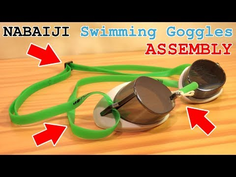 NABAIJI Swimming Goggles • Unboxing and Assembly