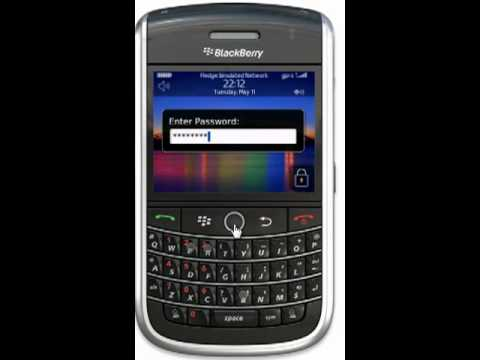 How to Set a Password on a Blackberry
