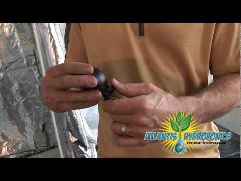 Using A Yo-Yo Grow Light Mover