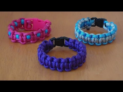 How to Make a Basic Paracord Bracelet -  Part 1