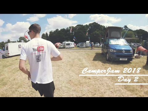 Camperjam day 2 (T25 project reveal and had to throw my glasses off a ride!)