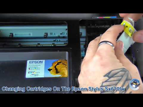 How To Change A Cartridge On An Epson Stylus SX610FW