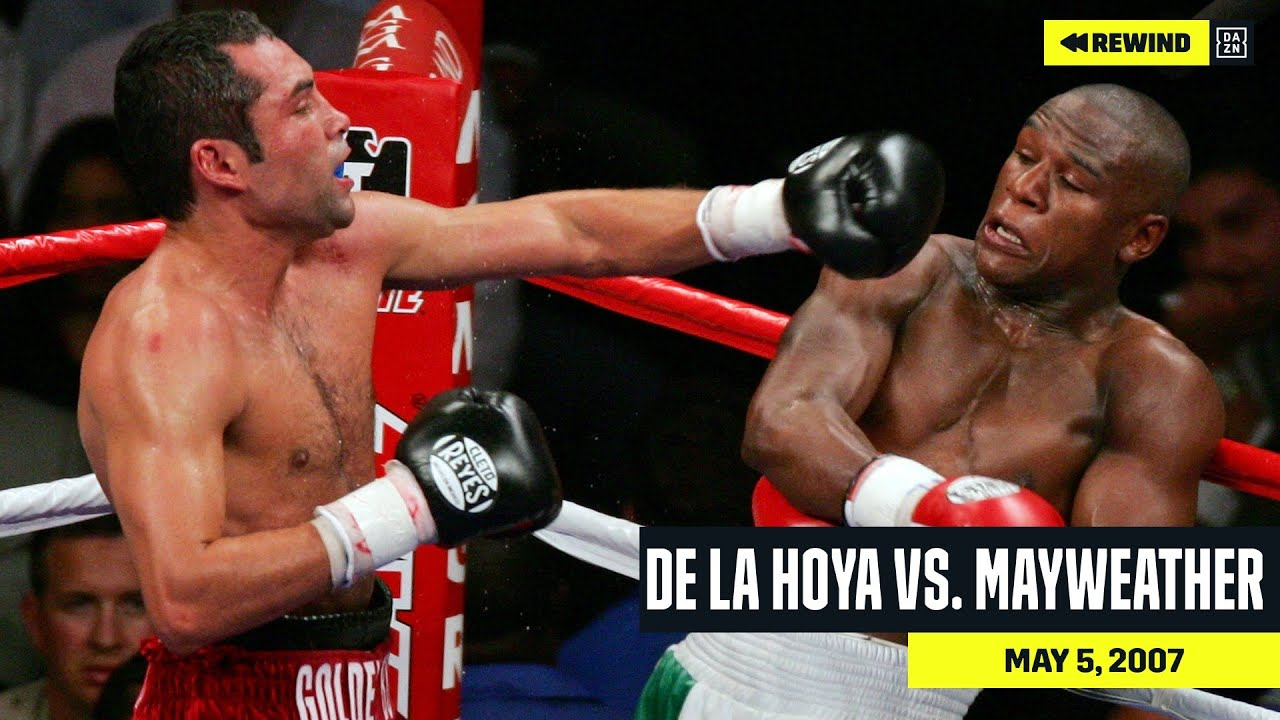 FULL FIGHT   Oscar De La Hoya vs. Floyd Mayweather (DAZN REWIND)