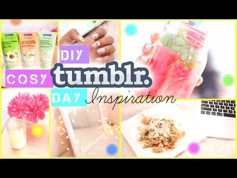 DIY Tumblr Cozy Day Ideas   Infused Water, Food & More