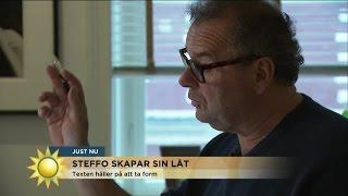 """Steffos hitlåt """"Handlar om att garva åt sig själv"""" - Nyhetsmorgon (TV4)"""