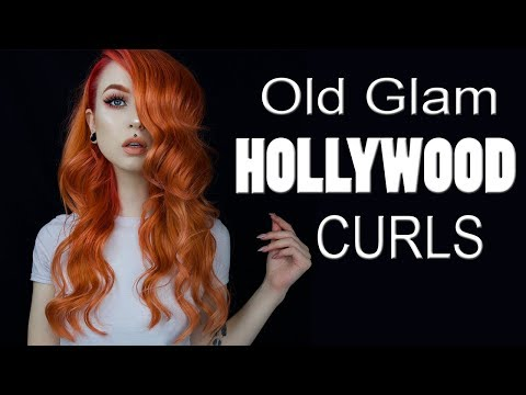 Old Glam Hollywood Curls ♀ Jessica Rabbit Lookalike | Evelina Forsell