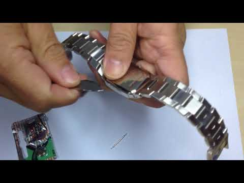 Guess Steel Dress Watch Battery Change - Back Opener Swiss Made vs Made in China