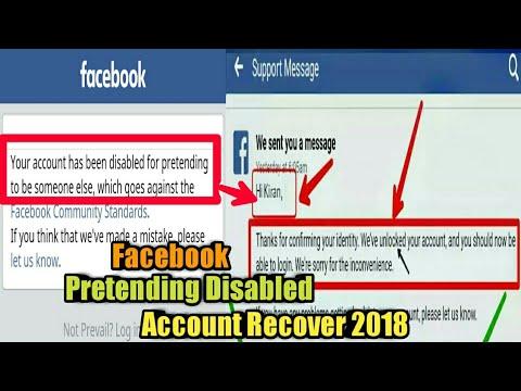 Facebook Pretending Disabled Account Recover & Verified Full Trick 2018.Mrk Tricks Bd