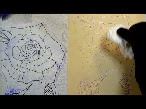 How To Make A Tattoo Stencil At Home