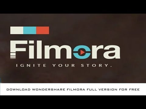How to get Wondershare Filmora full version for free