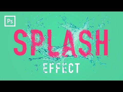 Photoshop Tutorials - Water Splash Effect (Displacement Mapping)