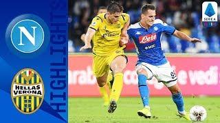 Napoli 2-0 Hellas Verona   Milik Double Keeps Hosts in Top 4 Spot   Serie A