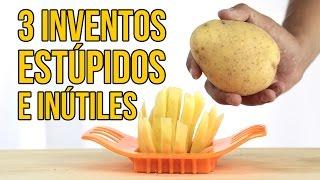 3 Inventos de cocina... ¡INÚTILES! - Visto en Internet