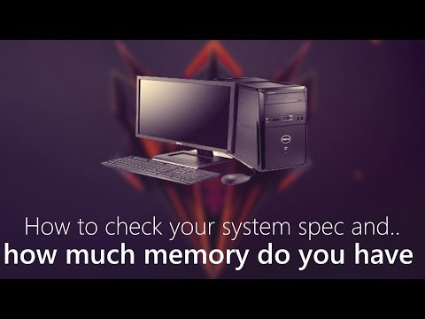 How to check your computer specs Windows 10