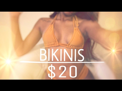 Trying On and Reviewing Bikinis Under $20 ! ZAFUL