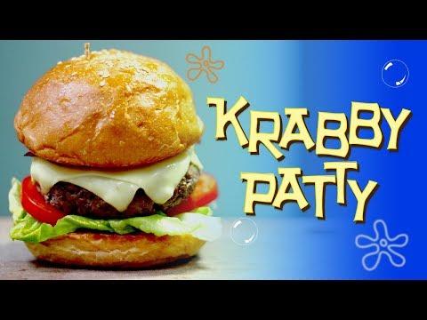 RESEP KRABBY PATTY | KRABBY PATTY RECIPE | SPONGEBOB SQUAREPANTS INSPIRED DISH