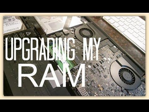 Upgrading my MacBook Pro's ram - FAIL.