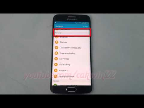 Android Lollipop : How to change Weather Auto Refresh time on Samsung Galaxy S6