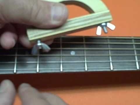 Build the Improved 99 Cent Guitar Capo