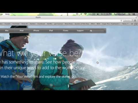 Fullscreen Shortcut for a Mac : Macs & Apple Computers