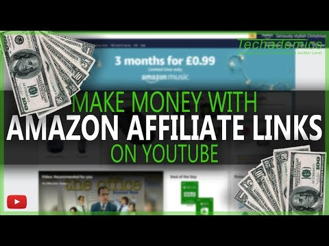 How To Add Amazon Affiliate Link For YouTube And Earn Money